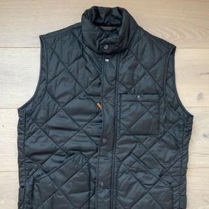 J. crew black men's vest